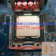 working 775 socket x5450 CPU 3.0GHz /LGA771/L2 Cache 12MB/Quad-Core/FSB 1333MHz/45nm/ server Processor Close to Core 2 q9550 cpu SmsAliexpress #smsaliexpress