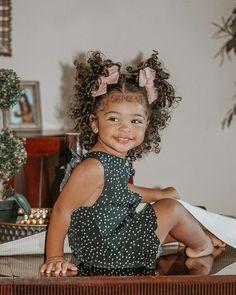 Cute Mixed Babies, Cute Black Babies, Cute Babies, Beautiful Children, Beautiful Babies, Beautiful People, Mix Baby Girl, Baby Girl Hairstyles, Cute Kids Fashion