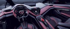 Lamborghini RESONARE  entre concept car et oeuvre d'art _ hypercars_ (28)