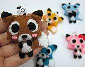 Cute Fox Keychain, Ornament, Magnet - Fayne, Fairley, Felix