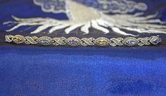 Multi Gemstone Bracelet Vintage Sterling Silver by XtremeVintage