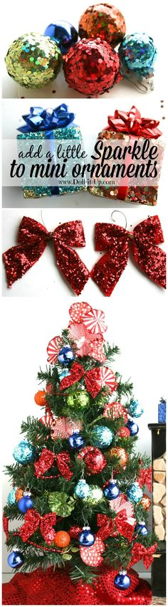 Hit the Clearance Row for Doll Size Tree Decor for Next Year! - Doll - christmas clearance decor