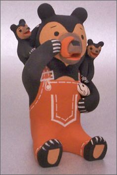 Bear Storyteller - Dorothy Herrera - Cochiti Pueblo