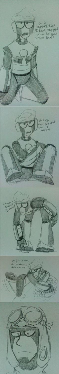 "Pilot is like"" art man....just stahp"""