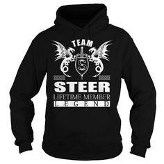 TEAM STEER LIFETIME MEMBER - LAST NAME, SURNAME TSHIRTS T-SHIRTS, HOODIES, SWEATSHIRT (39.99$ ==► Shopping Now)