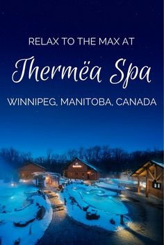 Thermëa Spa in Winnipeg, Manitoba, Canada focuses on the technique of a bathing circuit, a European ritual which is said to provide numerous health benefits. Calgary, American Express Rewards, Travel Insurance Reviews, Health Insurance, Vancouver, Visit Canada, Canada Trip, Toronto, Viajes