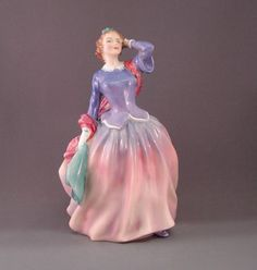 Blithe Morning   Royal Doulton Figurine - Another in my collection that I inherited from my mom.