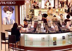 Japan's cosmetics giant Shiseido employees tend to