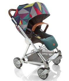 "Urbo² Stroller from Mamas & Papas - we love this signature edition print called ""Atticus"" - SO bold! #babygear"