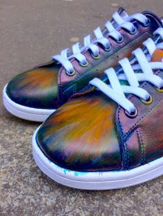A 8 color patina....sneaker patine, patina sneakers paulus bolten, adidas stan smith patinaed paulus bolten