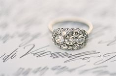 Wedding Party - http://weddingpartyblog.com/2012/11/23/engagement-ring-inspiration-ideas-diamond-jewelry-vintage-etsy-unique-carats/