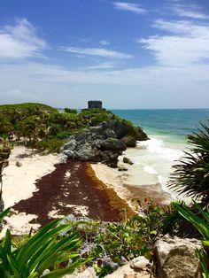 Tulum Ruins Mexico Oceanview