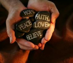 Live with Love, Have Faith in Peace. Believe you can do anything, and you are bound to Achieve.