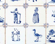 Old Amstertam in Blue