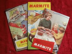 Vintage Marmite leaflets,( circa late 50's?)   eBay