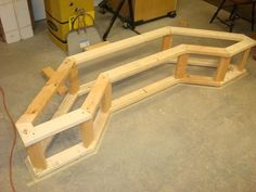 bench for bay window, make this a removable bench for the Christmas tree