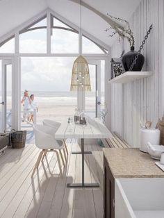 South Holland, Beach Cottage Style, Beach House Decor, Home Decor, Beach Cabana, Holiday Places, Coastal Living, Decoration, Beach Houses