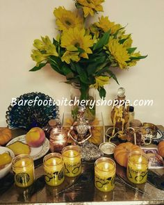 Oshun's altar. Best Of Intentions, The Conjuring, Altar, Barefoot, Whiskey Bottle, Sleight Of Hand, Altars