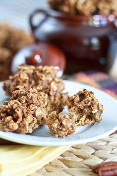 Sugar-Free High-Protein Pumpkin Oatmeal Cookies