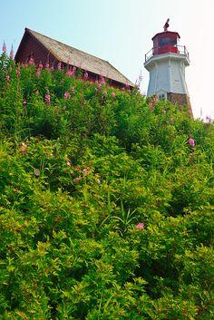 Mulholland Point Lighthouse, Campobello Island,  New Brunswick,