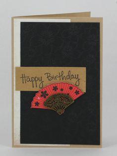 card by Cheryl O'Brien using Kaisercraft hanami garden range. www.craftqueen.com.au