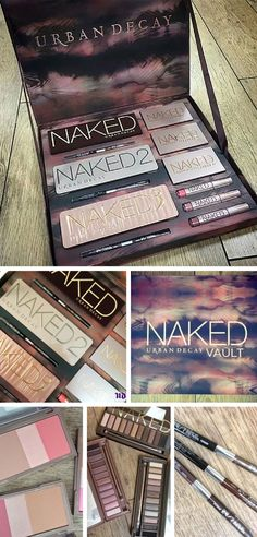 Naked Vault by Urban Decay. Launch date: October 30th. Includes the best of the urban decay line! A females dream! $280