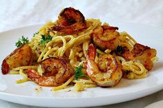 Spicy Creamy Shrimp Pasta Recipe - Cooking On The Ranch