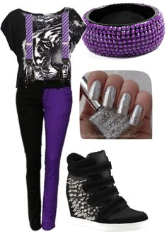 """Fierce"" by mekaylakool on Polyvore"