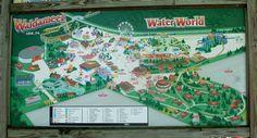 Waldameer Map