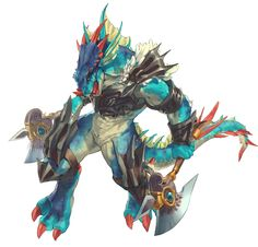 Soul Calibur V Aeon I'd love to play a monster campaign in Pathfinder. A Lizardman Bloodrager with the Draconic bloodline.