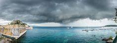 Autumn Storm Corfu - #corfu #corfuisland  #kerkyraisland #kerkyra #ionio #ionianislands #greece #greeceislands #travel #traveller #travelling #traveling #tourism #tourist #landscape #landscapes #photography #photographer #day #sea #sky #nightsky #stylianosphotography #lightning #thunder #storm #stormyday #thunderstorm #clouds