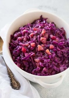 It's a breeze to cook my pressure cooker red cabbage and apple recipe in your