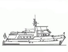 Boats With Antenna