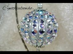 Day 2 of 10 Days of Christmas Ornaments with Cynthialooowho 2013 Easy Ornaments, Christmas Ornaments To Make, Ornament Crafts, Beaded Ornaments, Christmas Diy, Star Ornament, Christmas Snowflakes, 10 Days Of Christmas, Ornament Tutorial