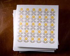 simple geometric stationery pattern