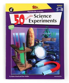 Look at this 50 Terrific Science Experiments: Grades 5 to 8 Paperback on #zulily today!
