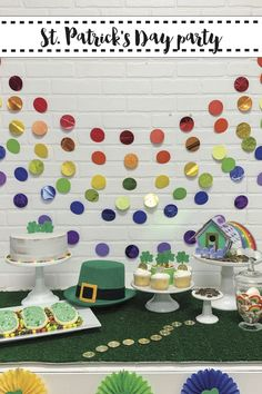 Host a rainbow St. Patrick's Day Celebration, complete with a DIY Leprechaun Trap with these tips from Everyday Party Magazine. #Sponsored @Cricut #LeprechaunTrap #StPatricksDayParty