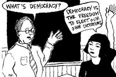Is Democracy for the nation, Dictatorship for oneself?