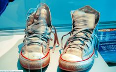 The Tenth Doctor's (David Tennant's) shoes.
