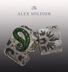 Alex Soldier Cuffs   {đιåмσиđѕρєåɾℓѕ}