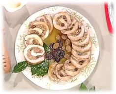 Cuochi per caso...o per forza!!: Arrosto di maiale ripieno di frutta e spezie da La...