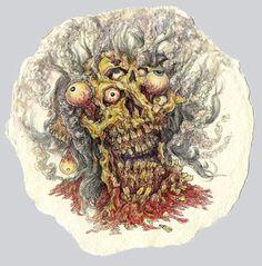 Dark Skull Illustrations From Todd Ryan White: http://skullappreciationsociety.com/skull-illustrations-2/ via @Skull_Society