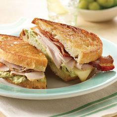 Grilled California Turkey Bistro Sandwich