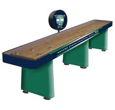 14u0027 Notre Dame Fighting Irish Shuffleboard Table