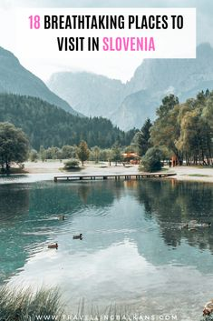 18 Places to Visit in Slovenia – Best Europe Destinations Backpacking Europe, Europe Travel Guide, Travel Destinations, European Destination, European Travel, Beautiful Places To Visit, Cool Places To Visit, Slovenia Travel, Voyage Europe