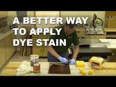 A trip to his local home improvement store provided Chris Marshall with a solution to his staining woes. This tip will help you prevent drips and get more ev. Best Woodworking Tools, Woodworking Classes, Woodworking Projects Diy, Woodworking Videos, Cool Wood Projects, Wood Turning Projects, Diy Projects, Lokal, Wood Plans
