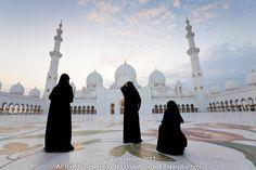 Sheikh Zayed Grand Mosque, the largest mosque in the U. and one of the ten largest mosques in the world, Abu Dhabi, United Arab Emirates, Middle East Islamic Architecture, Beautiful Architecture, Gothic Architecture, Dubai Things To Do, Grand Mosque, United Arab Emirates, Abu Dhabi, Middle East, Landscape Photography