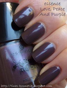 Tines Kosmetikblog: essence You Rock! - Love, Peace And Purple