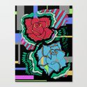 Rose Study Canvas Print by knee | Society6