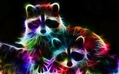Фрактальные LED-животные в проекте «Fractals»